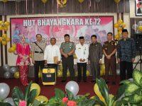 Polres Enrekang Gelar Syukuran HUT Bhayangkara ke 72 dengan Penyerahan Tiket Umroh untuk Marbot Masjid