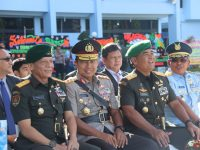 Sertijab Komandan Pangkalan TNI AU Sultan Hasanuddin di Hadiri Kapolda Sulsel