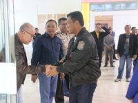 Bertolak ke Ibukota, PJU Polda Sulsel Antar Keberangkatan Brigjen Risyapudin