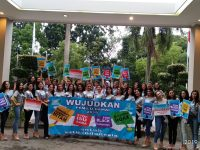 Lawan Hoaks dan SARA, Finalis Putri Indonesia dan YPI Deklarasi Sukseskan Pemilu Damai