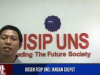 Siap Sukseskan Pemilu 2019, Dosen FISIP UNS : Partisipasi Aktif, Jangan Golput