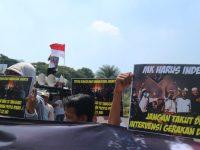 Bergerak ke Jalan, KMJ Sampaikan Tiga Tuntutan Rakyat Minta Provokator Kerusuhan 22 Mei Ditindak
